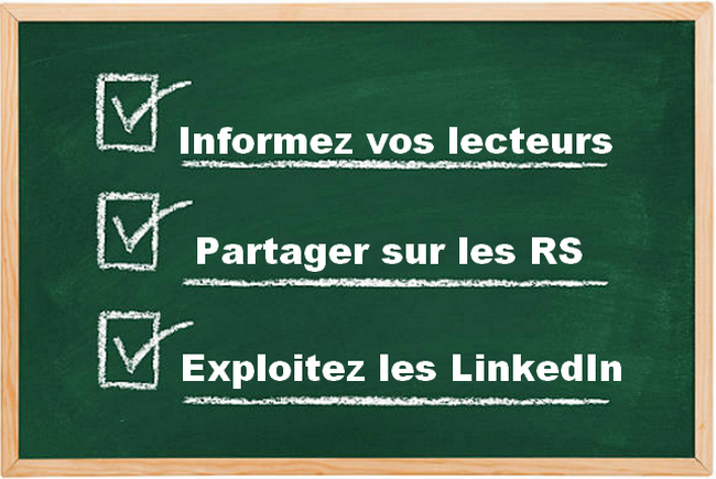 check-list article de blog